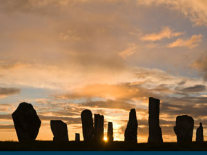 Callanish Stones | A typical Hebridean Loch